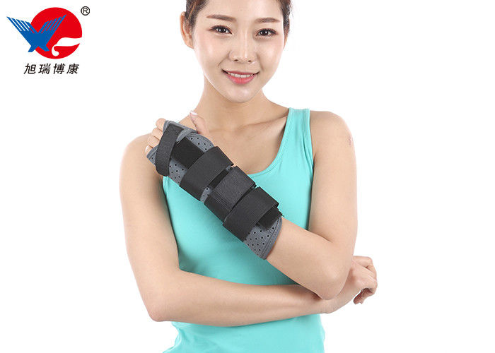 Removable Forearm Support Brace Gray Color Flannel And Aluminum Alloy Material